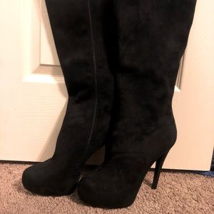 NWOT Knee High Stiletto Boots